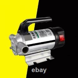 Electric Fuel Pump AC DC 380W Auto Refueling Oil Diesel Water Transfer Suction