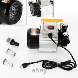 Electric Fuel Pumps, Oil Diesel Fuel Transfer Pump Kit 110V AC Fuel Self Priming