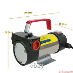 Electric Oil Fuel Transfer Pump Diesel Biodiesel Kerosene DC 12V 175W + Nozzle