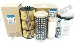 Filter Kit For Detroit DD13 DD15 DD16 Oil, FWS & 3 Fuel (All Donaldson)
