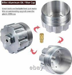 For Ford 6.0L Oil/Fuel Pressure Test Kit Gauge&Hose 2003-2007 Powerstroke Diesel