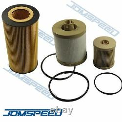 For Ford 6.0L Turbo Diesel Fuel & Oil Filter Replacement 3 of Each FD4616 FL2016