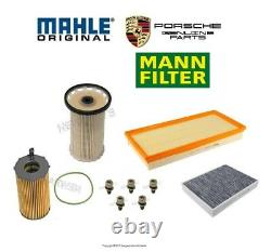 For Porsche Cayenne 3.0L Diesel Fuel Filter & Standard Air & Cabin & Oil Filters