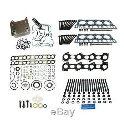 Ford 6.0L Powerstroke Diesel OEM Head Gasket Replacement ARP Stud Kit 18mm 04-06