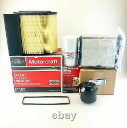 Ford 6.7 6.7l Powerstroke Diesel Motorcraft Oem Oil Air & Fuel Filter Kit