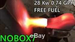 Forge, Foundry, Burns Any Fuel, High Performance, Waste Oil, Diesel, Propane