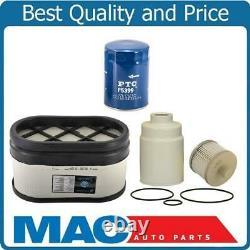 Fuel Air Oil Filters for Chevrolet Express Van 6.6L Turbo Diesel 06-13