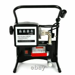 Fuel Transfer Pump Oil Diesel Gas Gasoline Kerosene With dispensing gun 2 Hoses