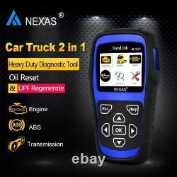 Heavy Duty Truck Diagnostic Scanner ABS DPF Oil Reset Diesel Gas