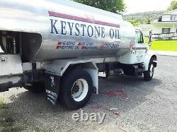 International and Ford fuel oil tank trucks