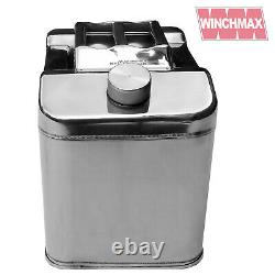Jerry Can Compact Stainless Steel Fuel Petrol Diesel Oil Water 20L Litre LTR