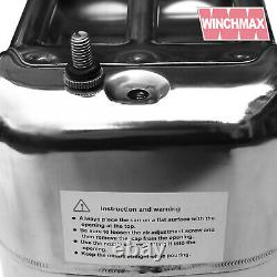 Jerry Can Polished Stainless Steel Fuel Petrol Diesel Oil Water 10L Litre LTR