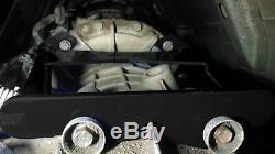 KB Black Allison Transmission Brace 2001-07 Chevy GMC 6.6l Duramax LB7 LLY LBZ