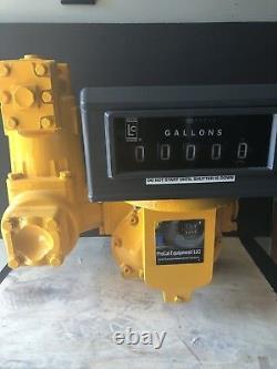 Liquid Controls TCS LC PD Meter Veeder Root Fuel Oil Gas Bio Diesel Jet Lube