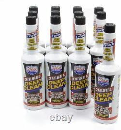 Lucas Oil 10872 Diesel Deep Clean Fuel Additive 16oz bottle (12 Pack)