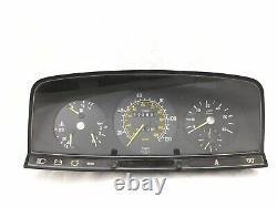 Mercedes-Benz W123 300D 300TD 300CD Instrument Cluster Speedometer Tachometer