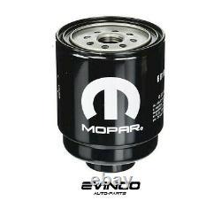 Mopar Diesel Oil Fuel Filter and Water Separator Kit For 2013 RAM 2500 3500 6.7L