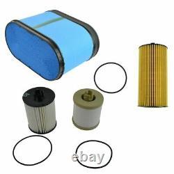 Motorcraft Air Oil Fuel Filter Set of 3 for 08-10 6.4L Powerstroke Turbo Diesel