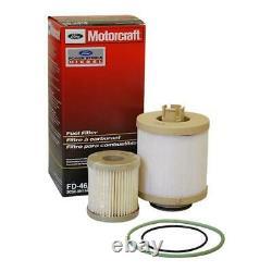 Motorcraft Oil & Fuel Filter With Rev-x Treatments 03-07 6.0L Powerstroke Diesel
