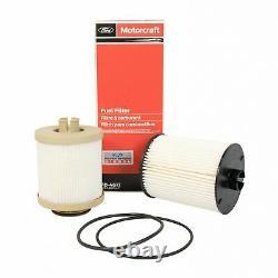 Motorcraft Oil & Fuel Filter With Rev-x Treatments 08-10 6.4L Powerstroke Diesel