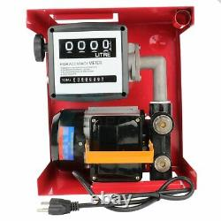 Multifunctional 155W Oil Pump Electric Gas Transfer Automatic Oil Fuel Diesel