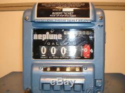 Neptune Meter Register Model 434 Code 0 Warranty Oil Gas Bio Diesel Fuel Call