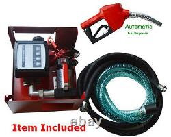 New 12V Fuel Oil Transfer Pump Diesel Kerosene etc. 3bar Max. Working Pressure