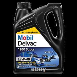 Oil Pan Kit Mobil Oil/Sealant/PPE Black Deep Pan & Filter For 01-10 6.6L Duramax