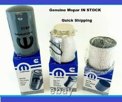 Oil filter 19-21 Ram 2500 3500 4500 5500 genuine oem fuel filter oil filter set