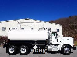 Peterbilt 378 Tandem Axle Tanker Tank Oil Fuel Pumper Delivery Transport Truck