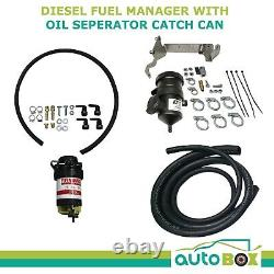 Provent Diesel Fuel Manager and Oil Catch Can for Mazda BT50 P4AT P5AT 2011-2020