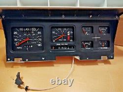REBUILT 80-86 Diesel Tachometer Gauge Cluster withAuto F150 F250 F350 Bronco