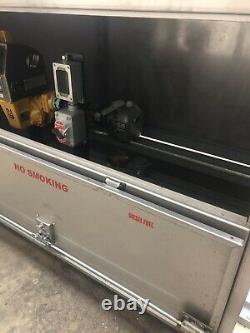 Refueling Cabinet Diesel Aviation Gas Oil Lube Meter Hose Reel Marina Fuel Jet