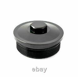 Rudy's Billet Oil & Fuel Filter Cap Set For 2003-2007 Ford 6.0L Powerstroke