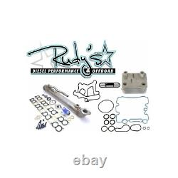 Rudy's EGR Cooler & Gaskets & Dorman Engine Oil Cooler For 2004-2010 Ford 6.0L