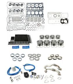 Rudy's Engine Overhaul Kit with Up Pipes For 2008-2010 Ford 6.4 Powerstroke Diesel