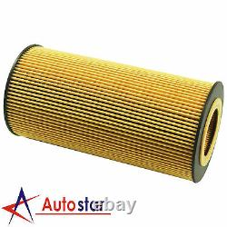 Set of 6 Fuel & Oil Filter Replacement FD4616 FL2016 For Ford 6.0L Diesel Turbo