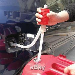 Sumex Petrol Diesel Fuel Oil Water Siphon Syphon Manual Hand Transfer Pump NEW