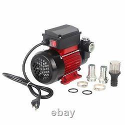 TOPWAY 110V AC 15GPM Electric Self-priming Oil Transfer Pump Fuel Diesel Kero