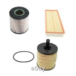 Volkswagen Touareg Diesel 5.0L V10 Engine Oil Fuel Air and Cabin Air Filters Kit