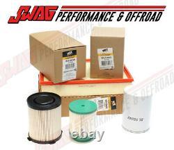 WIX Oil, Fuel & Air Filter Set For'16-18 Nissan Titan XD Cummins 5.0L Diesel