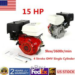 With Oil Alarm Iron Camshaft Gasoline Motor 420CC 4 Stroke Gas Motor Engine 15HP