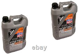 X10 LITER KIT Liqui Moly TOP TEC 4200 5W30 Synthetic GAS DIESEL Engine Motor Oil